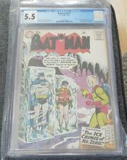 Batman #121 1st Mr. Zero / Mr. Freeze CGC 5.5 Cr-OW Pages Key Issue 🔑