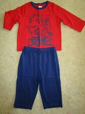 Boys Target Essentials lightweight cotton pyjama set with Dinoboy print Size 1
