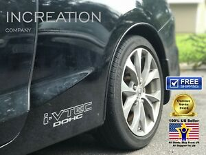I-VTEC Dohc Decals For Honda Civic Accord Graphics x2 vinyl Sticker Rally Racing