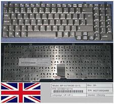 TECLADO QWERTY UK Packard Bell EasyNote W1 W3 W5 W7 MP-03756GB-1211L Negro