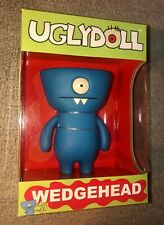 WEDGEHEAD UGLYDOLL VINYL TOY FIGURE BY DAVID HORVATH 2004 SUPER RARE Critterbox