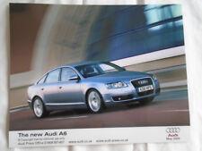 Audi A6 press photo May 2004