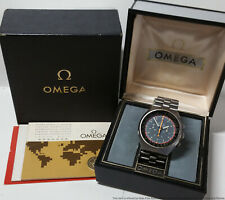 Vintage Omega Speedmaster Mark II Chronograph Mens Watch Box Papers
