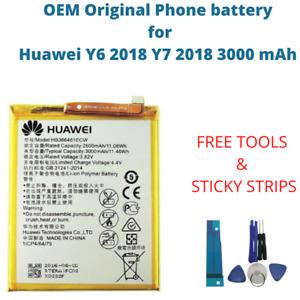 OEM Original Battery For Huawei Y6 2018 Y7 2018 3000 mAh HB366481ECW Battery New