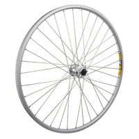 Wheel Front 700c Weinmann ZAC19 Silver 36 Alloy 6B DISC Quick Release Silver