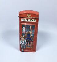 Vintage Churchill's Telephone Kiosk Money Box Metal Tin Heritage of England