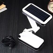 Stylish 24 LED Solar Foldable Desk Lamps Rechargeable Table Light For Reading