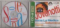 LORENZO JOVANOTTI CD single PROMO TUTTO 7 tracce 1996 IRENE LA MEDICA SATURNINO