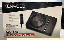 "Kenwood KSC-PSW8 250 Watt Single 8"" Under Seat Powered Subwoofer Enclosure NEW"