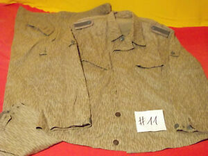 Frühe NVA Uniform (Jacke+Hose) FDA Uffz. kein Flächentarn Gr. m56 (1967+1965)(11
