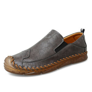 Mens Driving Moccasins Shoes Pumps Slip on Loafers Soft Comfy Breathable Casual