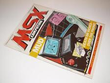 MSX Computing Magazine ~ October/November 1986