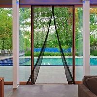 MAGIC Magnetic Insect Door Net Screen Mosquito Bug Fly Insect Mesh Guard Curtain