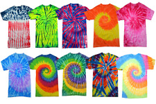 Tie Dye Style T-Shirts for Men and Women - Fun, Multi Color Tops by Krazy Tees
