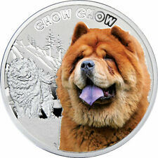 Niue 2014 1$ Chow-Chow Man's Best Friends Proof Silver Coin