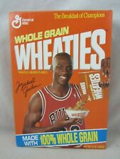 Michael Jordan  Wheaties Box  #10   VGC  (719v)