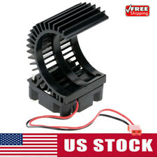 7014 Motor Heat Sink With Cooling Fan for 1/10 HSP RC Car 540/550 3650 Motor US