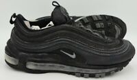 Nike Air Max 97 Leather Trainers 921733-001 Triple Black UK5/US7.5/EU38.5