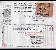 """PARIS (II°) BLOUSES & TABLIERS / VETEMENTS de TRAVAIL """"DUTHILLEUL & MINART"""" 1935"""