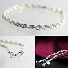 Unique Plated Women Silver Hot Fashion Bracelet Jewelry Charming