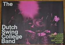 DUTCH SWING COLLEGE BAND 1971 German concert Tour poster A1 23x33