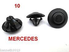 MERCEDES A CLASS Bonnet Insulation Replacement Retaining Black Plastic Clip T 78