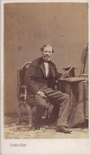 CHAM (Amédée de Nöe) Caricaturiste Photo Disdéri CDV VintageAlbumine ca 1860