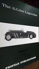 PROFILE PUBLICATIONS CAR #29: THE 4.5 LITRE LAGONDAS (1966)