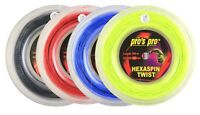Pro's Pro Hexaspin Twist Tennis Racket String 200m Reel Twisted Made in Germany