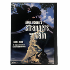 Strangers on a Train Double Feature 1951 + 1979 (Dvd 1997) Original Usa Snapcase