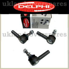 LAND ROVER DEFENDER 90/110 TRACK ROD ENDS - OEM BALL JOINTS - SET OF 3 - 69/70