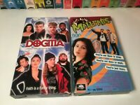 Kevin Smith 90s Comedy VHS Lot of 2 Mallrats & Dogma Jason Mewes Ben Affleck