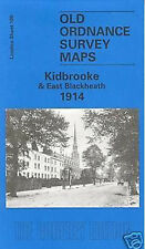 MAP OF KIDBROOKE & EAST BLACKHEATH 1914