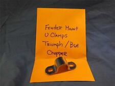 "Triumph / BSA U Clamps 1"" Fender Mount Chopper  NP357"