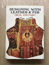 1972 DESIGNING WITH LEATHER & FUR (REAL & FAKE) BY MARY PATTON RETRO UGLY