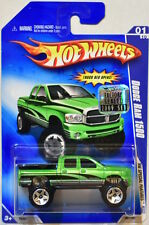HOT WHEELS 2009 HW SPECIAL FEATURES DODGE RAM 1500 #01/10 GREEN FACTORY SEALED
