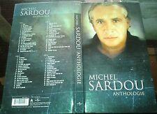MICHEL SARDOU LONG BOX COFFRET 4 CD ANTHOLOGIE INC JOHNNY HALLYDAY EDDY MITCHELL