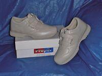 Propet M3705  Mens Dual Strap Lite Walking Shoe,Bone  12 X  ( EEE )
