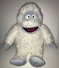"""Build A Bear Bumble The Abominable Snowman 17"""" Plush Rudolph Red Nosed Reindeer"""