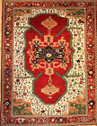 Hand-knotted Rug (Carpet) 9'1X11'11, Serapi mint condition
