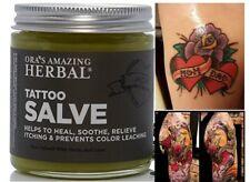 Tattoo Salve Natural Organic Cream Tattoo Aftercare Treatment Lotion No Paraben