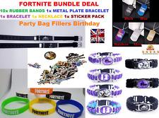 20 pcs Fortnite jeu vidéo silicone bracelets bracelets Fête Sac Remplissage garçons