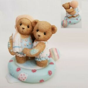 CHERISHED TEDDIES 2006 FIGURINE, EMILY MEGAN, WADING POOL, BEACH, 4005149, NIB