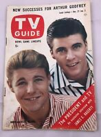 1958 TV Guide December 27 David and Ricky Nelson Patti Page Esther Williams Pitt