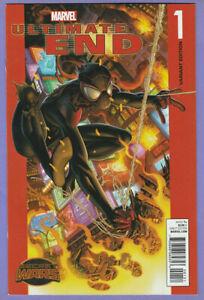 Ultimate End 1 E Mark Bagley variant Spider-Man homage cover Miles Morales 1st v