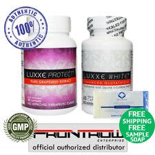 Luxxe Blanco Set-mejorado proteger extracto de semilla de uva glutatión & Luxxe-Ahorre ❤