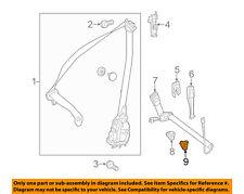 MERCEDES OEM S550 Front Seat Belt-Buckle Cover Left 2228681539