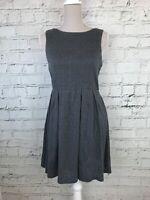 MELA LOVES LONDON - Grey Floral Patterned Skater Dress - Womens - Size 10