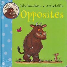 My First Gruffalo Opposites BRAND NEW BOOK by Julia Donaldson (Board book, 2011)