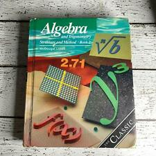 Well loved Algebra and Trigonometry Structure and Method Book 2 McDougal Littell